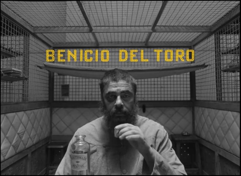 Benicio Del Toro。(《The French Dispatch》預告)