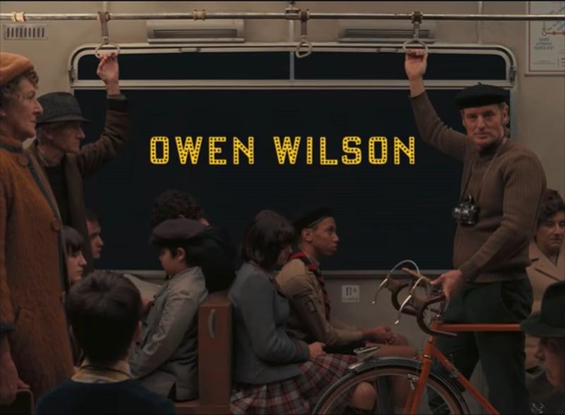 Owen Wilson。(《The French Dispatch》預告)