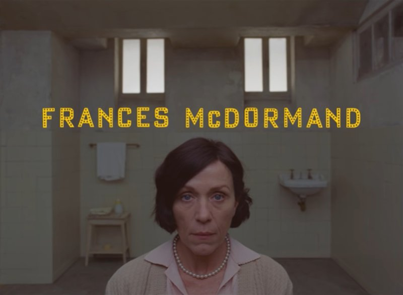 Frances McDormand。(《The French Dispatch》預告)