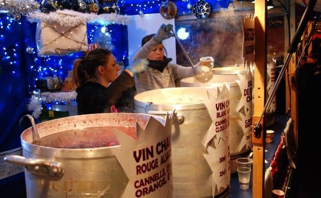 冬季聖誕 熱葡萄酒