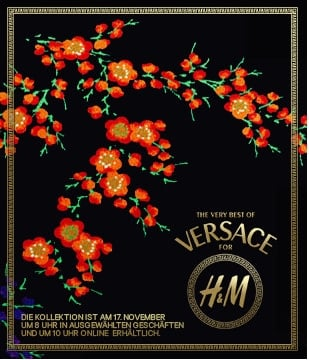 Versace for H&M living 家居