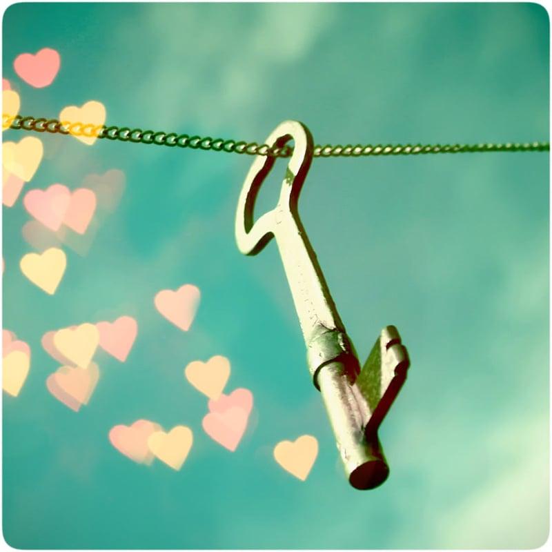 【戀人絮語】我有一把幸福的鑰匙