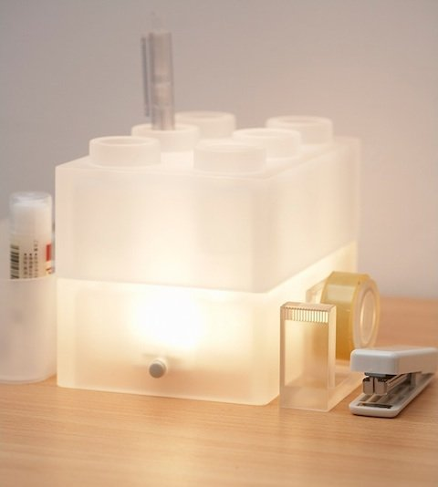 25togo 樂高積木燈 womany.net 桌燈