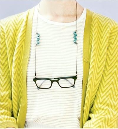 新潮復古時尚 Library Brass Smith工匠系列眼鏡鍊
