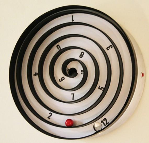 讓人忍不住多看一眼的創意掛鐘
