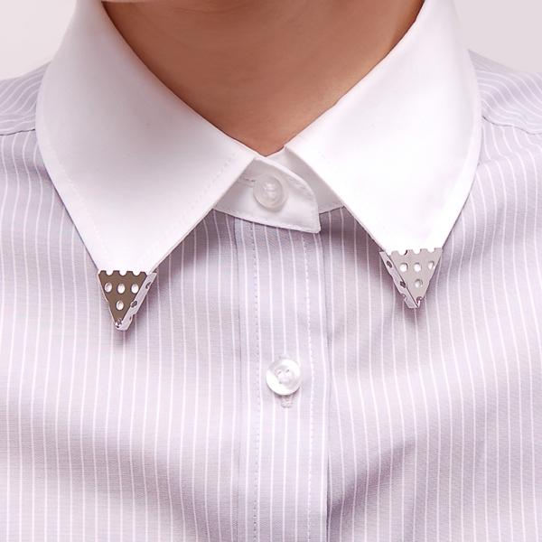 avoir l'air bijoux COLLAR TIPS V領夾 in womany.net