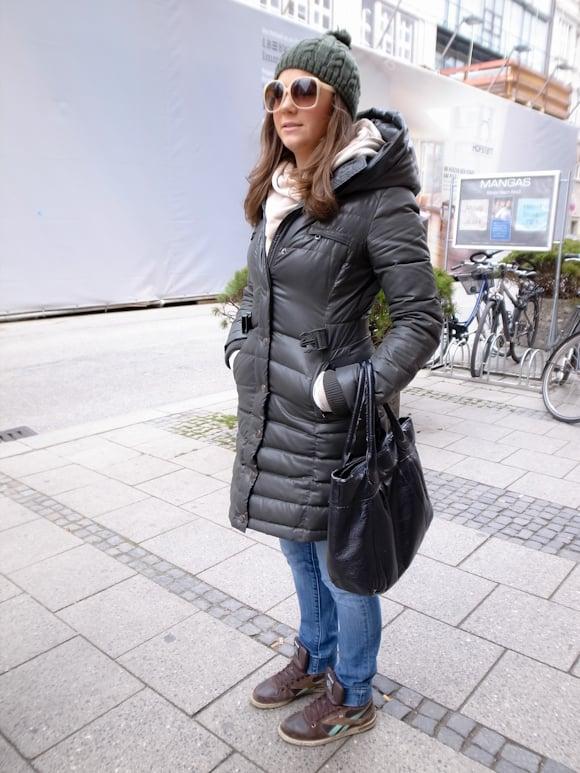 冬季街拍定番穿搭 慕尼黑 曾凡寧 Fan-Ning Tseng in womany.net