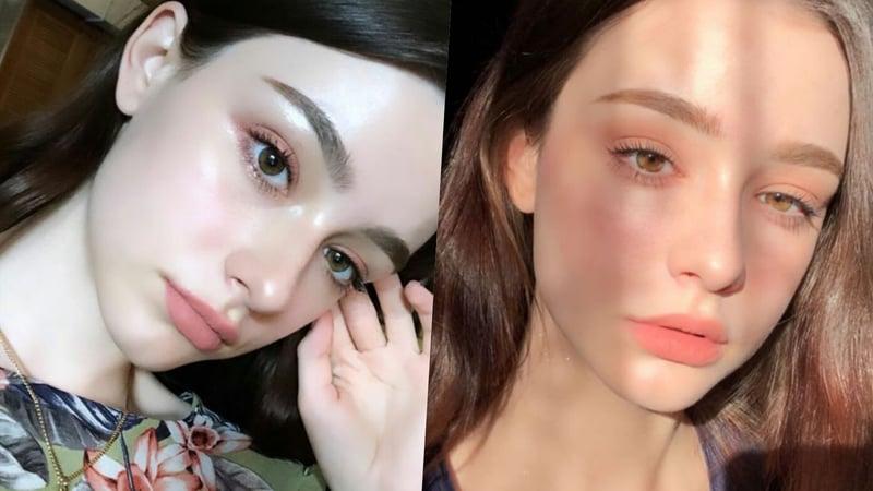 妝前乳有調整膚色、減少粉底用量的效果。