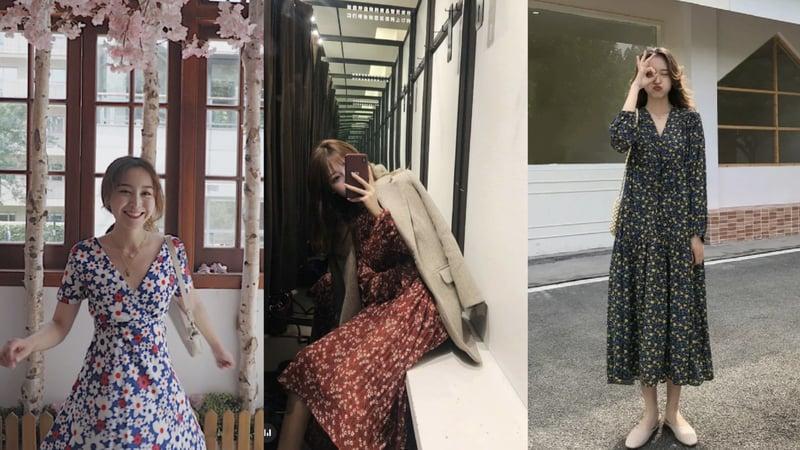 在台灣一整年都很適合穿搭的雪紡紗材質,真的是女生衣櫥必備