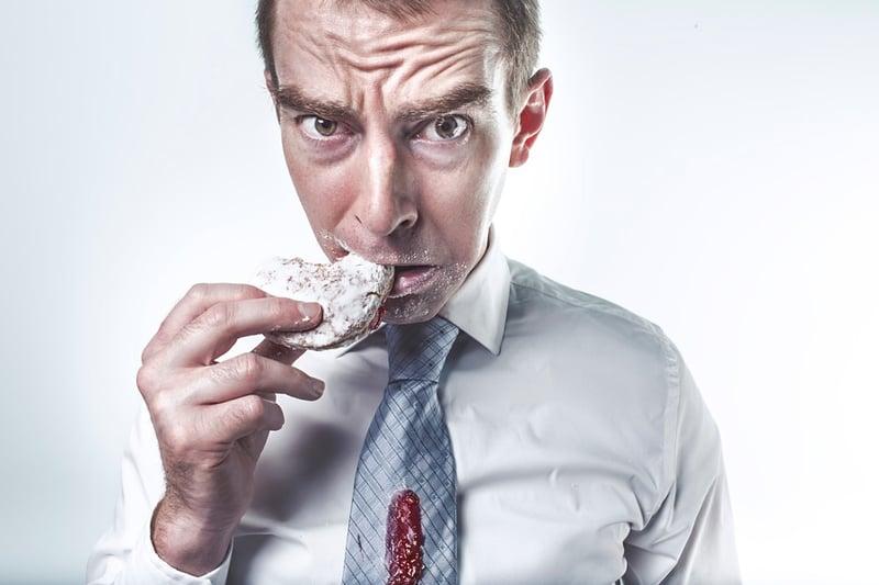 男人過食,女人少食