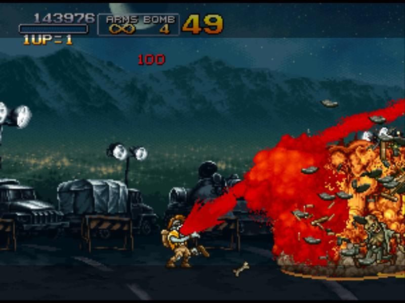 《越南大戰》電玩中用吐血當大絕招的Zombie